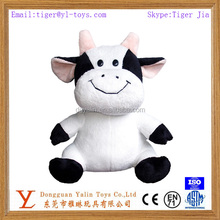 cute animal plush toy plush stuffy cow toy for kids
