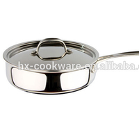 chef best choose tri-ply stainless steel pots and pans