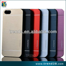 6 kinds of color factory made motomo ino metal case for iphone5