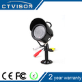 "1/3"" CMOS 800TVL micro cctv camera Metal Colour IR Night Vision"