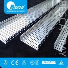 Unistrut type Cable Tray/Cable Trough/Cable Channel with CE Certificate and good prices
