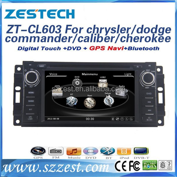 ZESTECH 2 din car dvd player support dvd gps navigation for chrysler/jeep dodge grand cherokee 2014 with car multimedia player