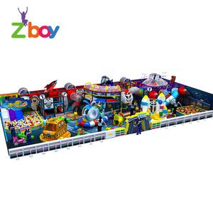 2018 Space Theme Children Soft Cheap Indoor Playground Equipment