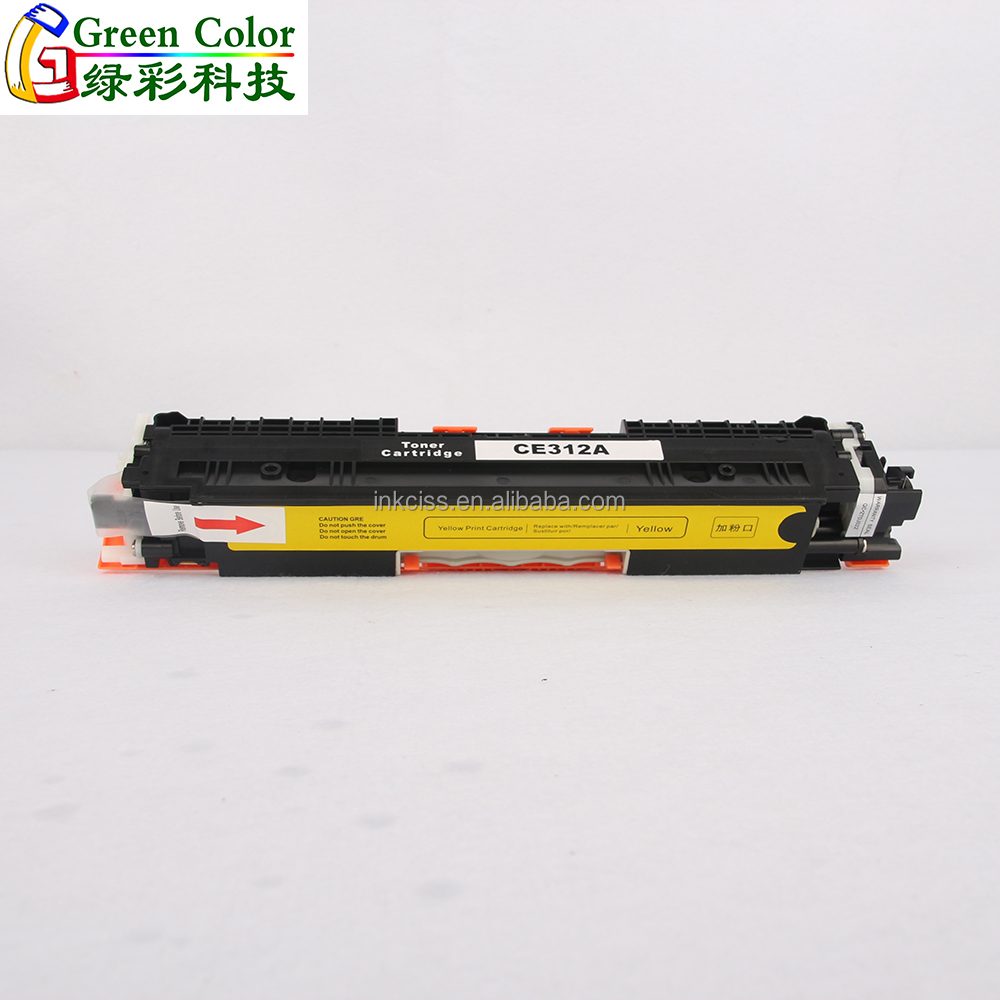 Compatible ce310a-313a new empty color laser toner cartridge