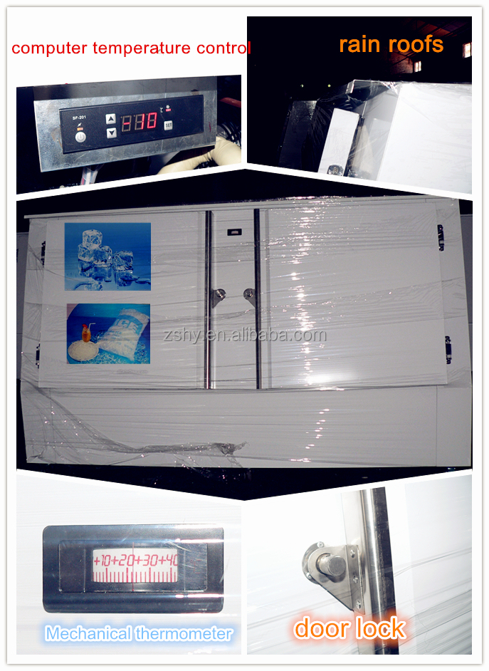 Customized Ice storage bin with Italy EMBRACO Compressor