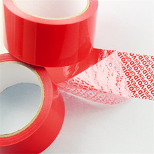 hot sale security tape for sealing with factory price