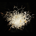 Wholesale Handmade Art clear murano glass chandelier for ceiling decor