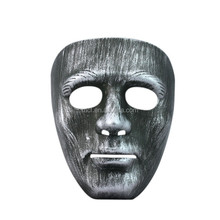Party men funny mask, plastic masquerade venetian mask MSK245