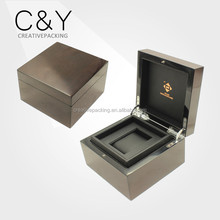 2016 Customized wholesale wooden watch box