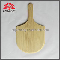 Trustworthy Supplier Square New Zealand Pine wooden Pizza Shovel, Pizza Peel Spade