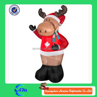 customized giant inflatable moose for christmas inflatable moose for advertising