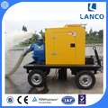 P Series Self Priming Farm Irrigation Diesel Water Pump With Trailer