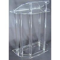 Customized acrylic ,Acrylic podiums diaplay stands,lighted acrylic crystal stands