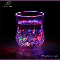 [somostel] 2015 Promotional Barware Wineglass glasses Flashing Plastic Cocktail LED Glass, Multicolor Light Up Cup, Drinking Led