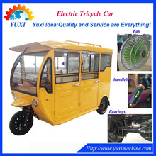 High quality adult 3 three wheel electric tricycle passenger seat | tuktuk