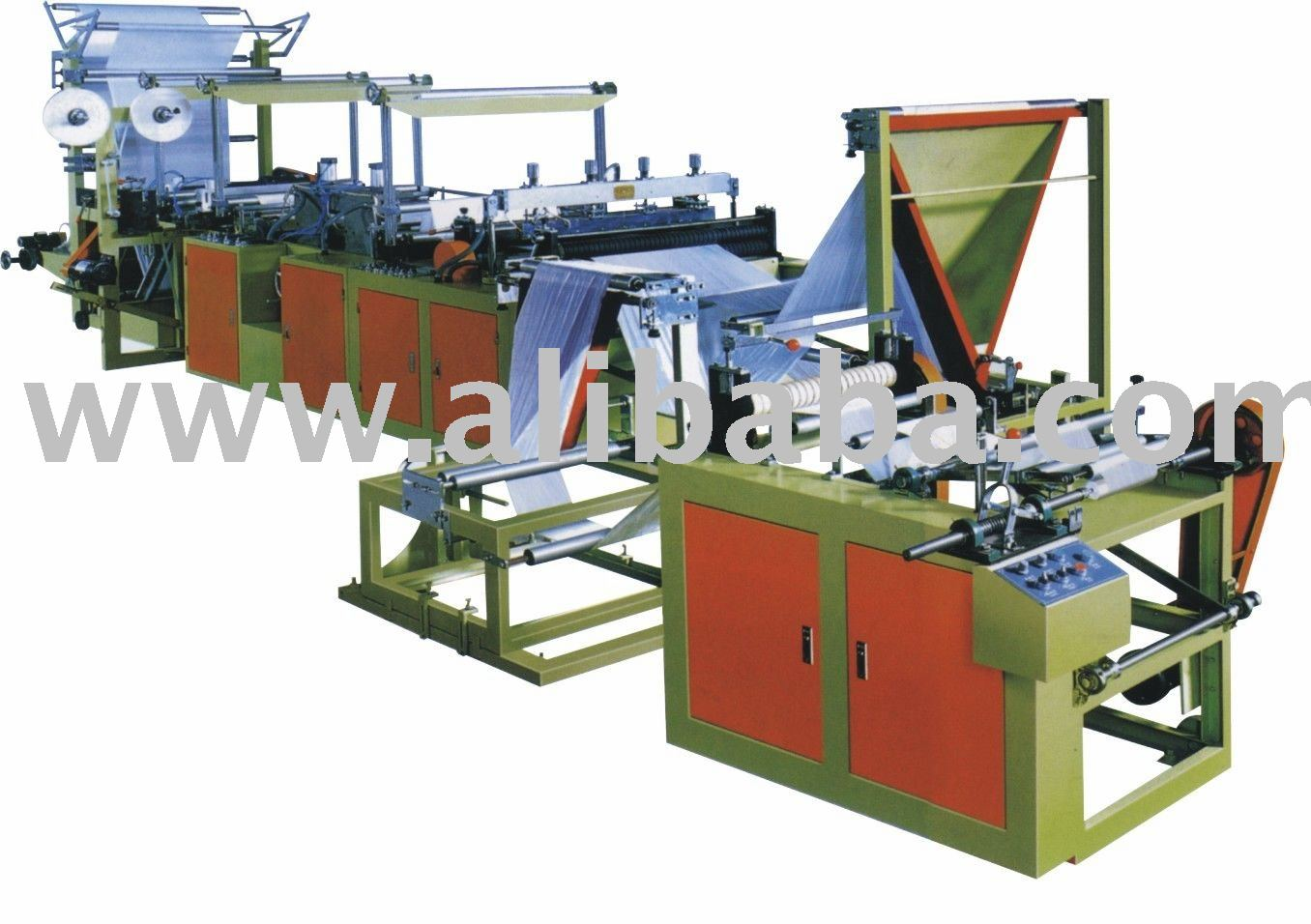 Threading Rolling Bag Making Machine