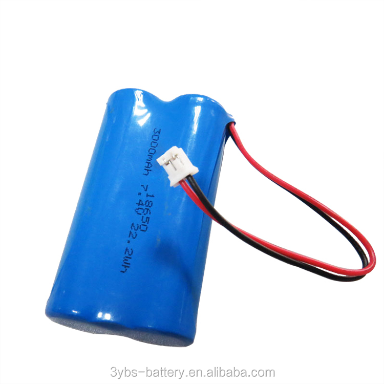Rechargeable 2S1P 1S2P 18650 lithium battery pack li ion 18650 battery pack for emergency light