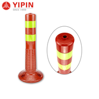 Wholesale price road safety plastic delineator rebound warning bollard