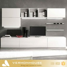 Modern Simple White Design TV Wall Cabinet