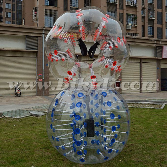 CE high quality&funny 1.2m 1.5m 1.7m TPU/PVC bubble football,soccer ball,human hamster ball for sale D1005