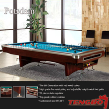 TB solid wood TB-US066 billiard table guangzhou for sale