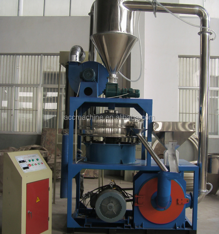 High Tech Recycling Automatic Fine Pe Pvc Pulverizer/ Plastic Milling Machine / Plastic Grinding Machine