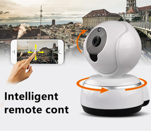 Factory In Guangdong China High Quality Wifi Dome HD IP Camera Indoor Safety IR Night Vision Baby Monitor P2P CCTV Camera