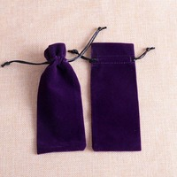 Customized High Grade Velvet Drawstring Pouch