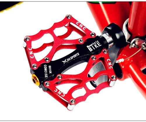 OEM High quality bike pedal Aluminum bicycle pedal for MTB bicycles with free samples