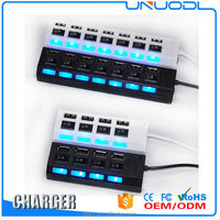 4/7 Port Portable Multi USB Charger