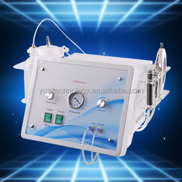 Ultrasonic Skin Scrubber new portable water oxygen jet peel dermabrasion peel Skin Whitening injection oxygen machine for facia