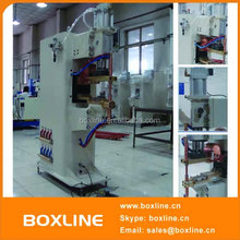 Medium frequency invert projection nut welding machine