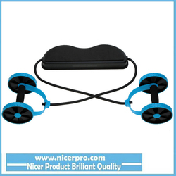 Double AB Roller AB Wheel Fitness Abdominal Exercises Equipment Lightweight Abdominal Waist Slimming Equipment