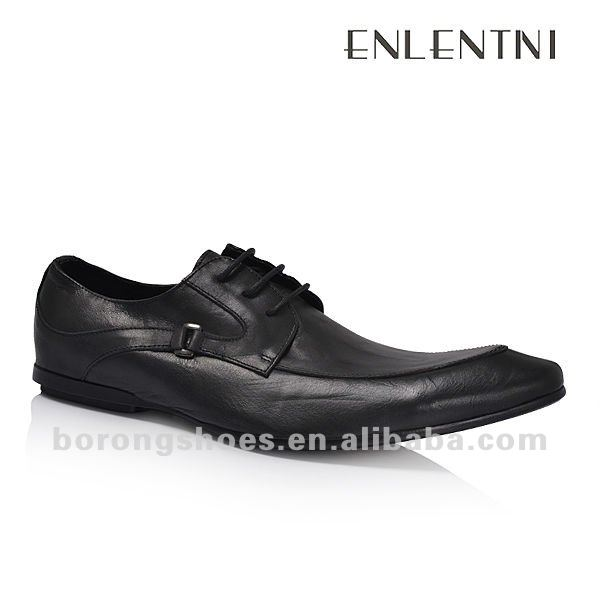 Italian new style dress shoes for men wholesale leather shoes made in China