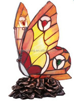 Stained glass lamps wholesale butterfly lamp- Multicoloured. TFN-2423
