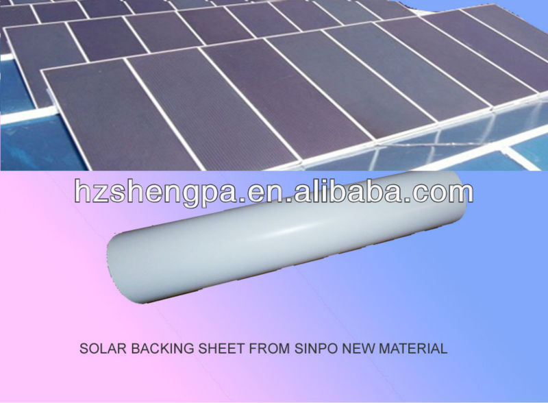 Protection Fluorine FEVE Coating FPF FPE PET Multilayer Film for Solar Energy