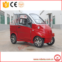 Special design Enclosed with 4 wheels 2 seats smart mini Golf cart Electric car