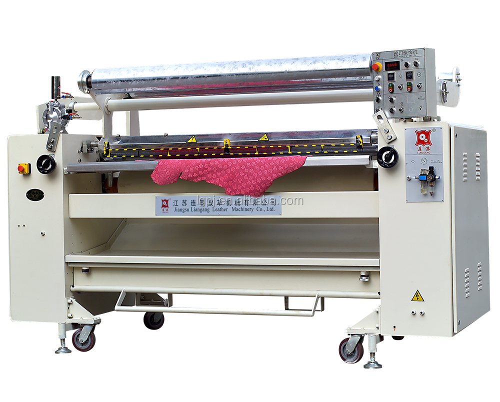 pu leather printing machine