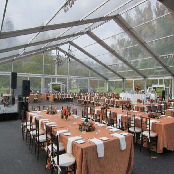 25m clearspan transparent events tent