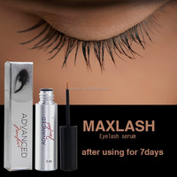 MAXLASH Natural Eyelash Growth Serum (Human Hair Material and Hand Made Type human hair strip lashes)