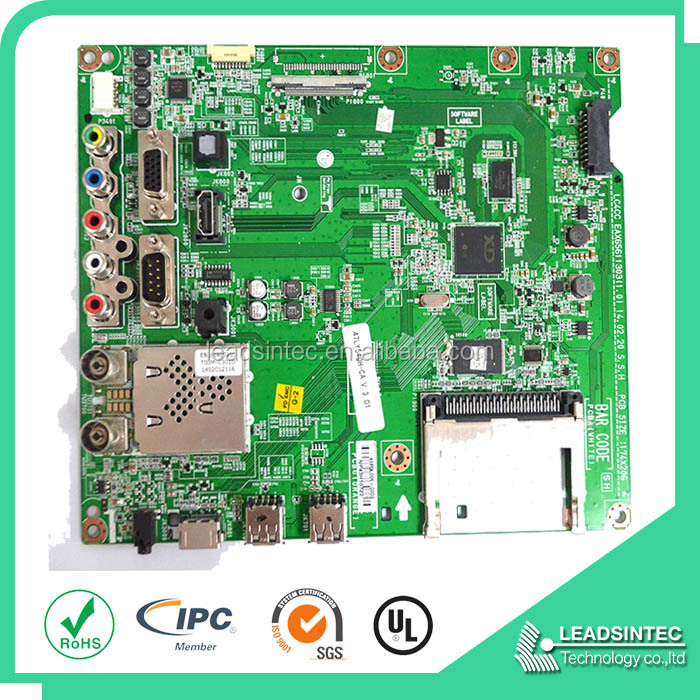 Professional TV Motherboard PCB Design pcba assembly