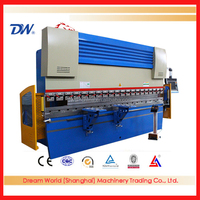 "2016 Newest ""SLMT"" Plate Bending Machine, China folding machine, WE67K Electr-hydraulic Cnc Press Brake"