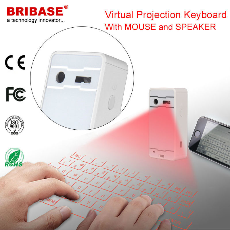 Cheap Price Virtual Laser Keyboard Red Infrared Bluetooth Projection Keyboard