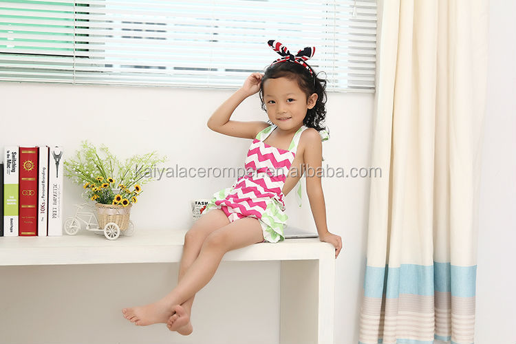 Promotion Chevron Bubble Romper Baby Clothes In Stock