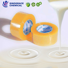 Reliable Factory high temperature High peel glue latex acrylic bopp tape adhesive