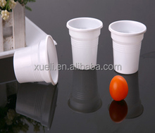 3oz disposable plastic tea / solid color /cutsom tea cups pp