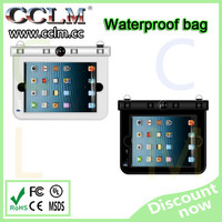 Wholesale pvc waterproof for ipad bag with lanyard