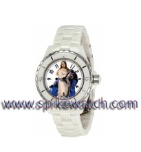 Fashion white icee lady watch