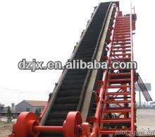 DZ made steeply inclined extended belt conveyor machine