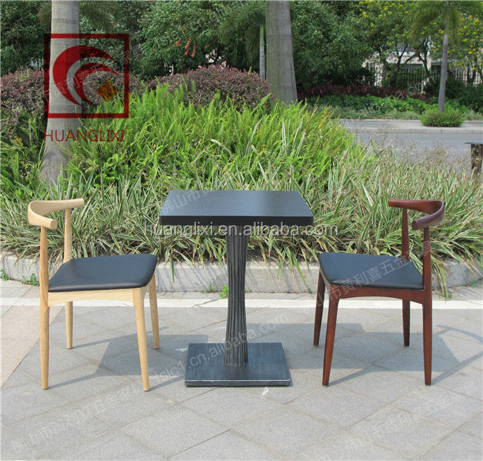 Wholesale price cheap used wood restaurant dining tables and chairs for sale